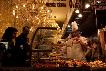 Food place in Beyoglu, Istanbul