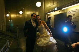 Marriage en métro