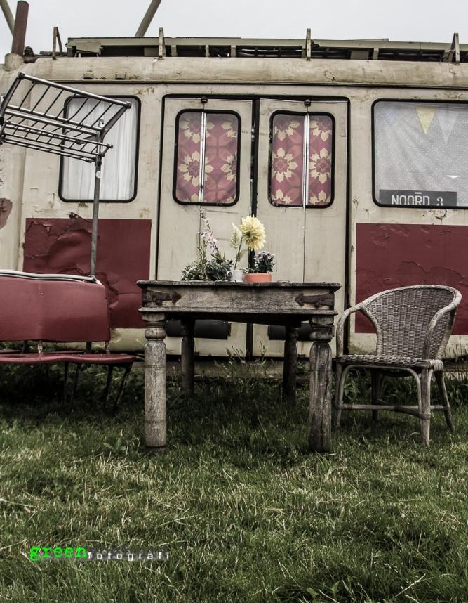 Tram Wagon Housing