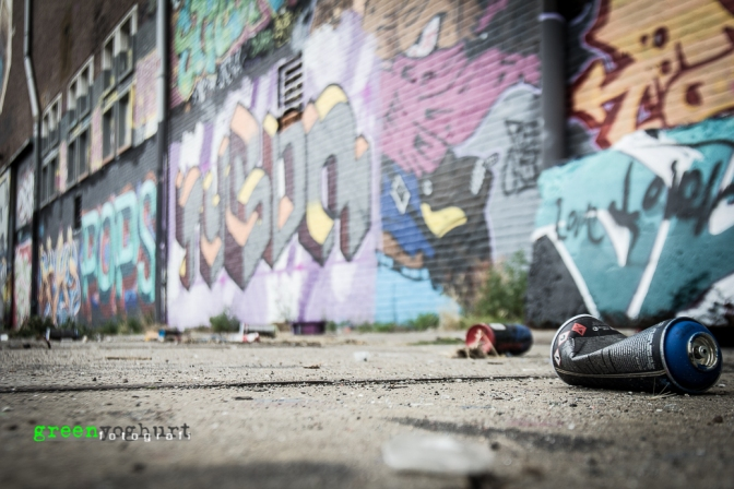 graffiti zone @ amsterdam noord