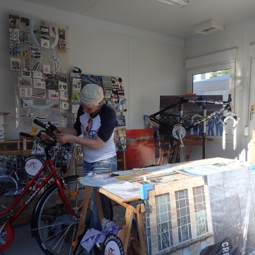 felgenLYRIK auf Fahrradlenker :-)