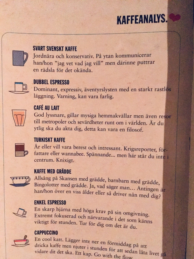 kaffeeanalys