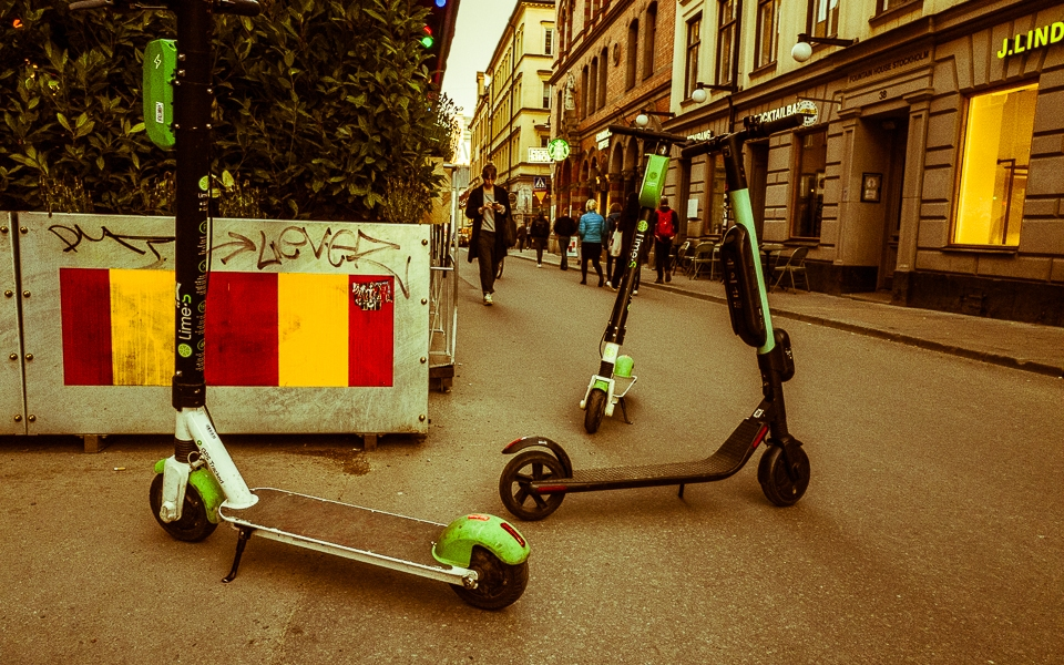 E-Scooters Stockholm