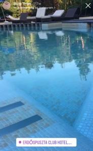 pool Erdöpuszta Club Hotel Debrecen